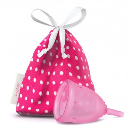 LadyCup L(arge) LUX menstruációs csésze nagy Rózsaszín 1 db