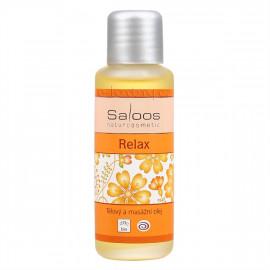 Saloos Relax - Bio test és masszázs olaj 50ml