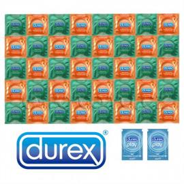 Csomag Durex Orange Apple - 40 óvszer + 2x síkosító Pasante