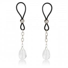 California Exotics Nonpiercing Nipple Jewelry Crystal - Mellbimbó dísz