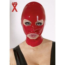 LateX Latex Mask - Latex Álarc Piros