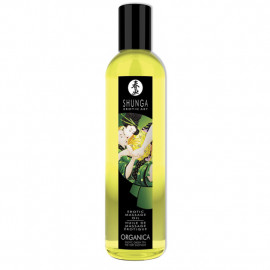 Shunga Erotic Massage Oil Organic Exotic Green Tea 250ml