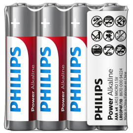 Philips Power Alkaline AAA 4 pack
