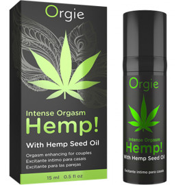 Orgie Hemp! Intense Orgasm Gel 15ml