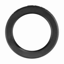 Perfect Fit The ROCCO Steele Hard 1.75 Inch Stretch Cock Ring Black