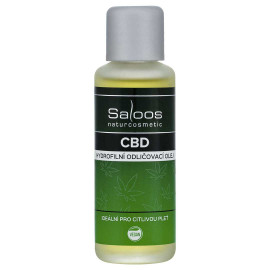Saloos CBD Hydrophilic Make-up Remover Oil 50ml