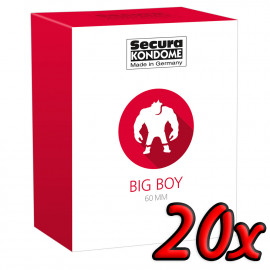 Secura Big Boy 60mm 20 pack