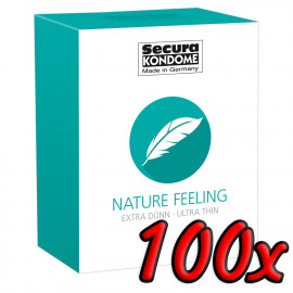 Secura Nature Feeling 100 pack