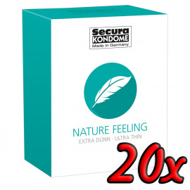 Secura Nature Feeling 20 pack