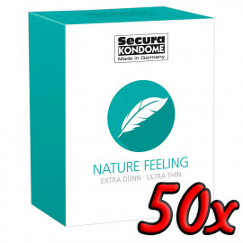 Secura Nature Feeling 50 pack