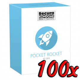 Secura Pocket Rocket 49mm 100 pack