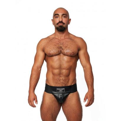 Mister B Leather Premium Jockstrap Black