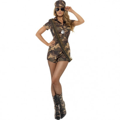 Fever Army Girl Sexy Costume 28864
