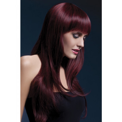 Fever Sienna Wig 42549 - paróka Fekete Cseresznye