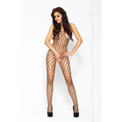 Passion Bodystocking BS001 Fekete