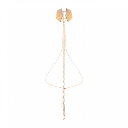 Bijoux Indiscrets Magnifique Collar Gold - Fém nyakörv Arany