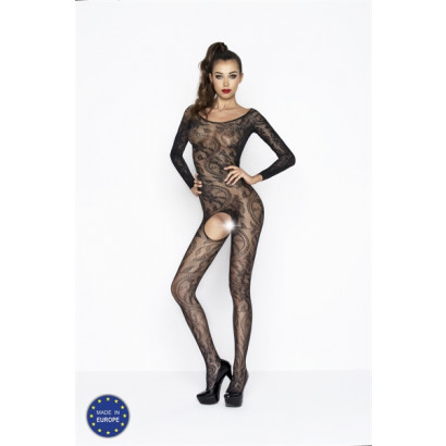 Passion Bodystocking BS042 Fekete