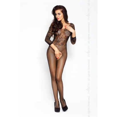 Passion Bodystocking BS007 Fekete