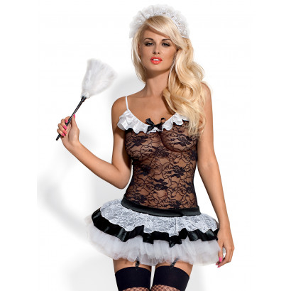 Obsessive Housemaid 5 pcs Costume Black